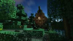 Small Medieval Fantasy House Minecraft Map & Project