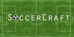 SoccerCraft Unlimited℠ - Playable Redstone Football with Score System! Minecraft