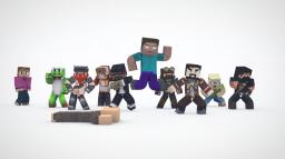 EVERYBODY DO THE FLOP [Minecraft Animation]