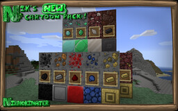 Nik's New Cartoon Pack ! Minecraft Texture Pack