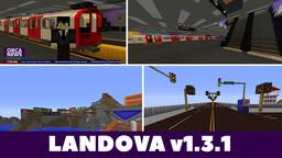 Landova (Modded Country Map)  [v1.3.1] Minecraft Map & Project