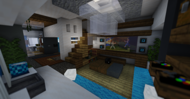 Update 1 - Entertainment area