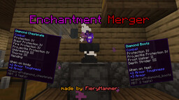 Enchantment Merger - No more exclusive enchantments Minecraft Data Pack