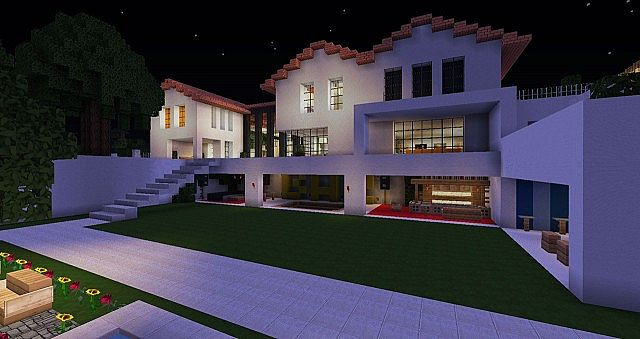 1 6 flows hd texture pack 128x minecraft texture pack for Minecraft modern house 9minecraft