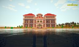 Amazing Island House Minecraft Map & Project