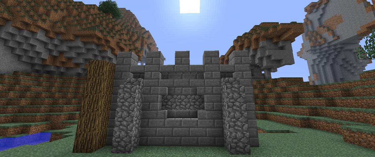Minecraft Wall Design