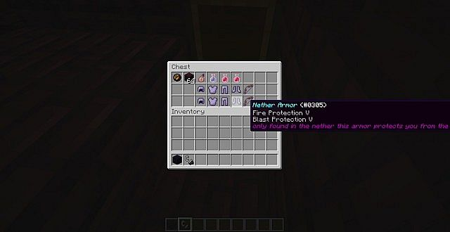 Custom Armor, in the Nether