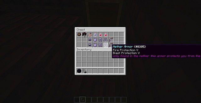 Custom Armor, in the Nether