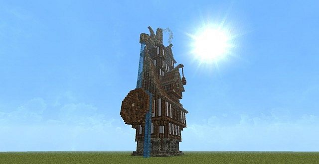 steampunk building style test minecraft project