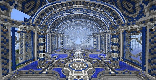 Lazuli Temple Blm Spawn Contest Minecraft Project