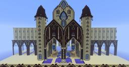 Mediterranean Style Fantasy Build Minecraft Map & Project