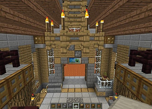 Castle Hall Minecraft Project