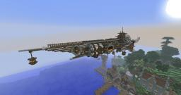 Airship Cruiser Minecraft Map & Project
