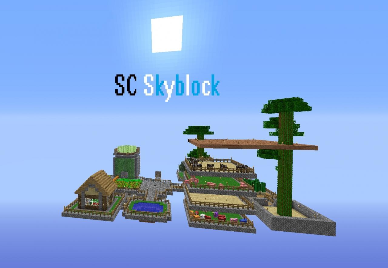 Minecraft Servers Skyblock - a-k-b info