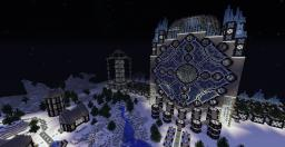 Frozen Spawn - Winter palace, town, and terrain
