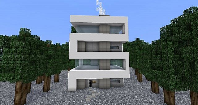Servon Skycraper Minecraft Project