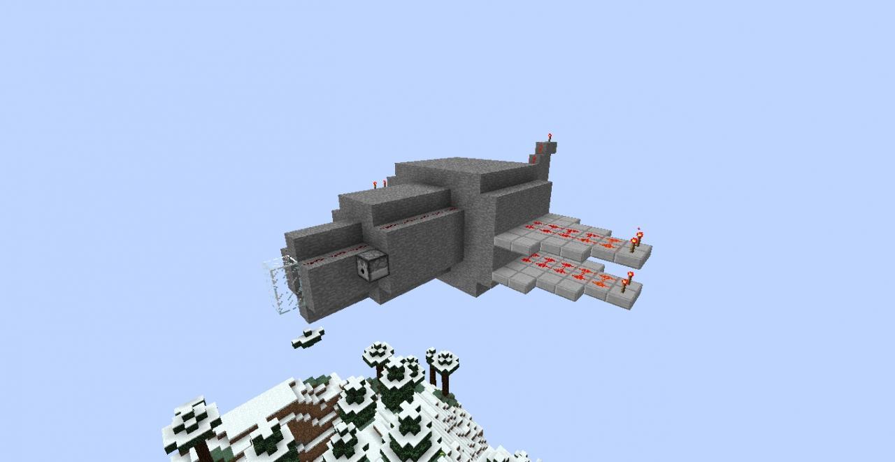 minecraft plane by yazur - photo #36