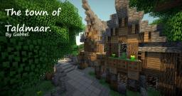 The town of Taldmaar Minecraft Project