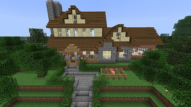 Ranch Style House Minecraft Project