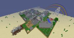 NukeTown BlackOps Map Minecraft Project