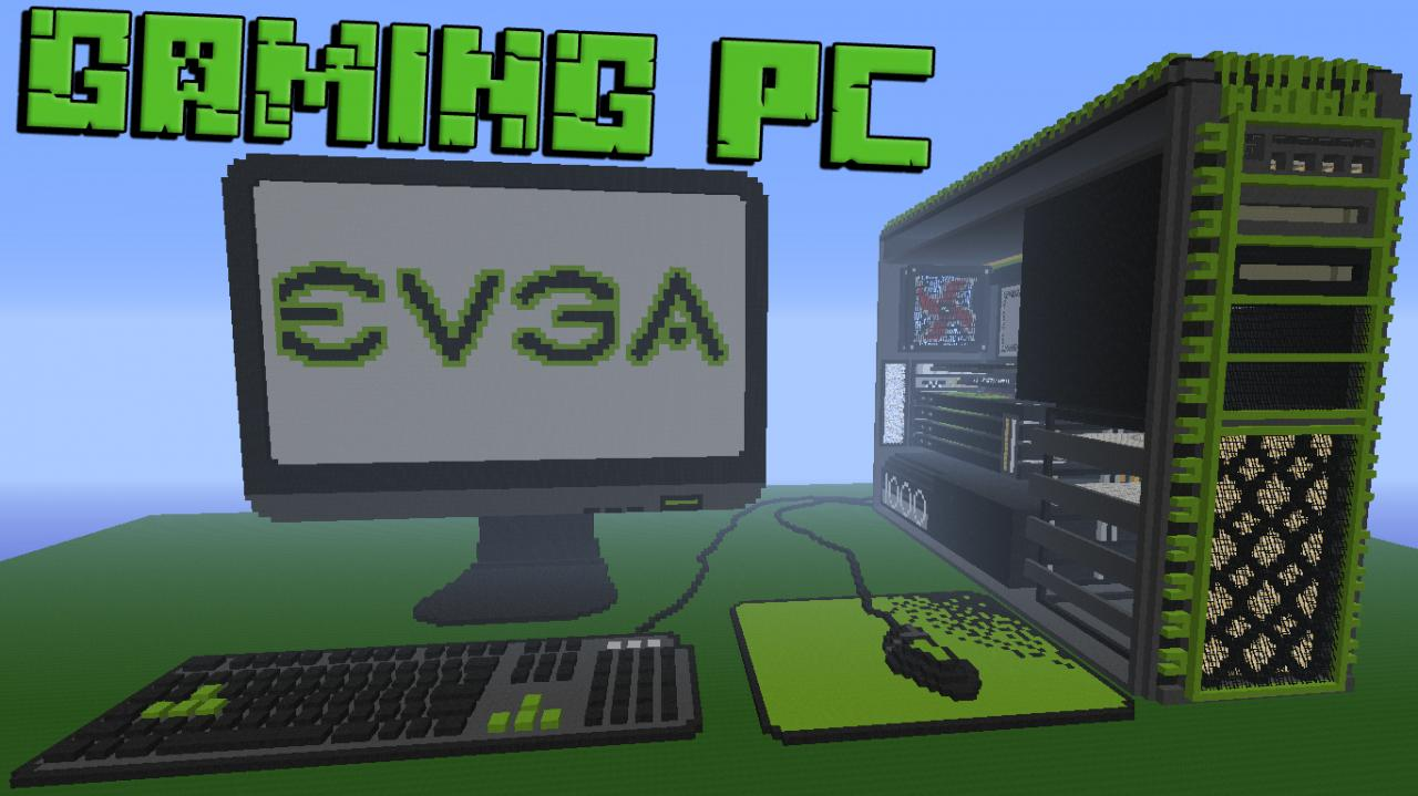 Gaming Pc V1 By Caio Gabriel Minecraft Project