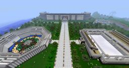 FreeHugs PVP Stadium Minecraft Map & Project