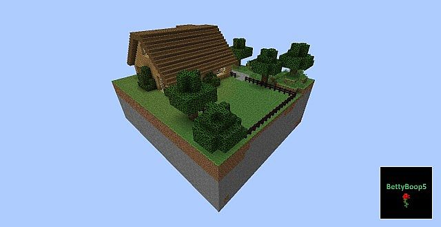 House 2 Stories Wood Minecraft Project