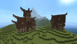 Nordic Houses Minecraft Map & Project