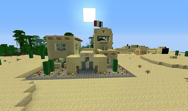 Adobe House Minecraft Project