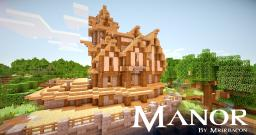 Medieval Manor | By Mrjrbacon Minecraft Map & Project