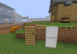 Something Like default (changes door/trapdoor textures to wooden planks) Minecraft Texture Pack