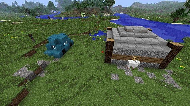 The Walking Dead Crafting Dead Reborn mod custom map Minecraft