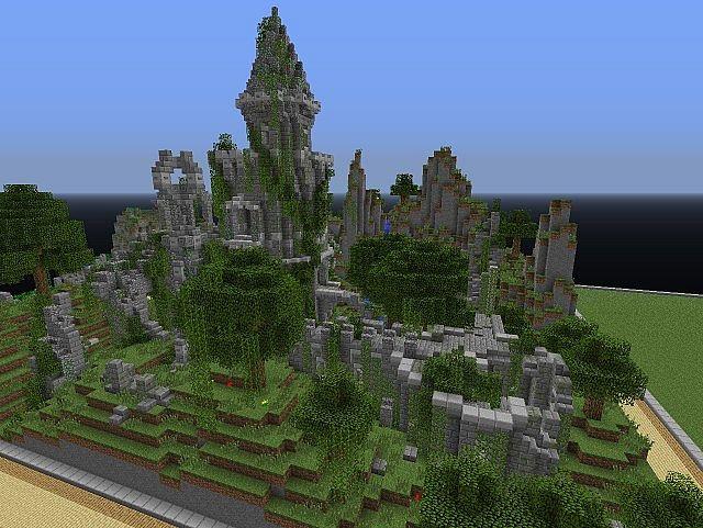 A Small Ruin Minecraft Project