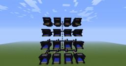 Monster Cannon - FIRES 64 TNT PER SHOT Minecraft Map & Project