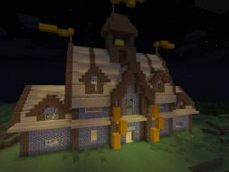 Medieval Village Hall Minecraft Map & Project
