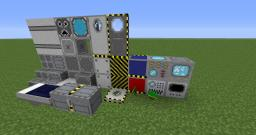 Simple Sci-Fi textures [S-SF] V_0.4 Minecraft Texture Pack