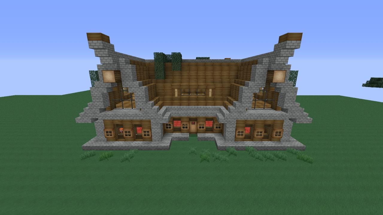 Rustic Cottage Unfurnished Minecraft Project