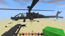 AH-64D Longbow (apache) Minecraft