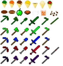 The Mo' Foods/Tools Mod [1.5] Minecraft