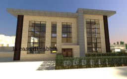 la casa di sabbia (Modern House) Minecraft Map & Project