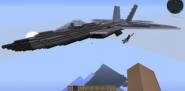 Military Aircraft Builders Minecraft Collection