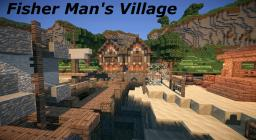 Fisher Man's Village Island - Cinematic - Download Minecraft Map & Project