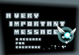 -An important message- Minecraft Blog