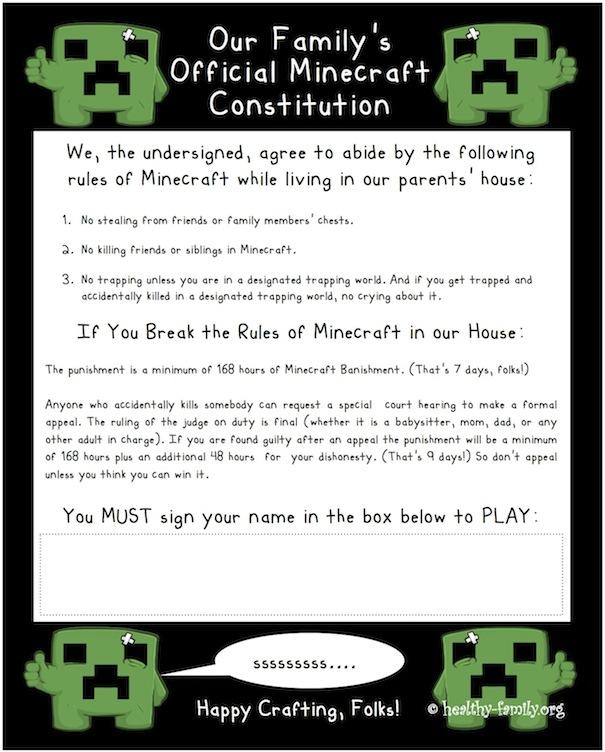 Minecraft Tips For Parents And Addicted Kids Who Love Playing