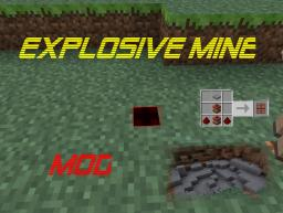 [1.4.7] The explosive mine mod! | Instant exploding mines! | Kill creepers with style!!! | Minecraft Mod