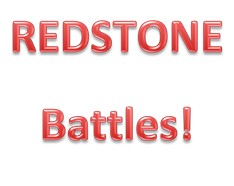 Redstone Battles! Minecraft Map & Project