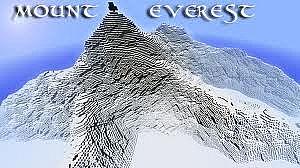 Mount Everest - Adventure map Minecraft Project
