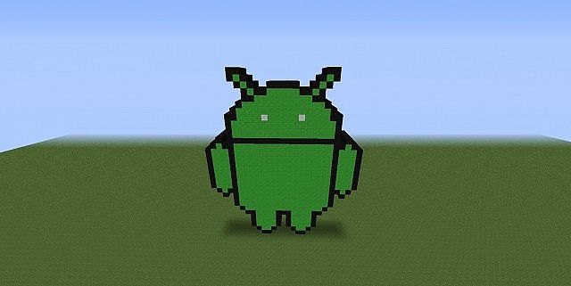 Android 3d Pixel Art Minecraft Project