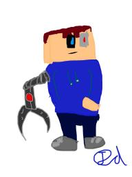 Cyborg picture Minecraft Blog