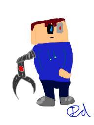 Cyborg picture Minecraft Blog